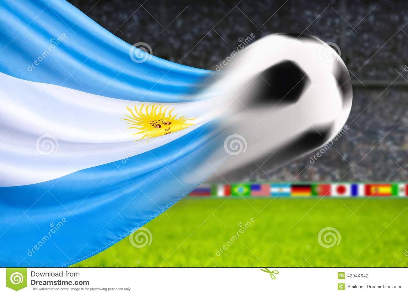 Argentina Flag Ball