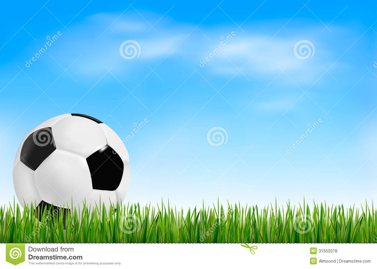 Football Background. Royalty Free Stock Photos - Image: 31552078