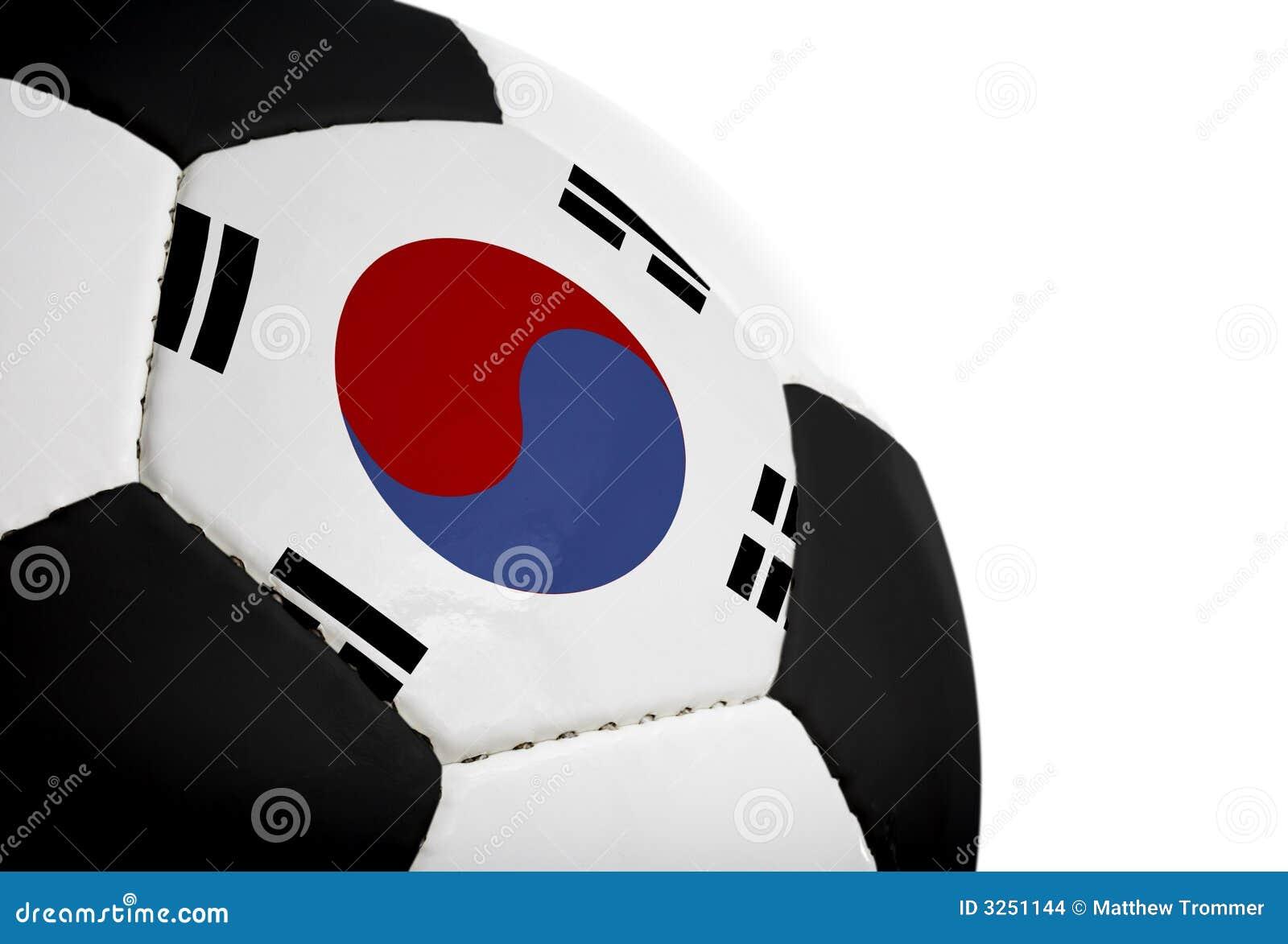 Football bandery koreańczyk