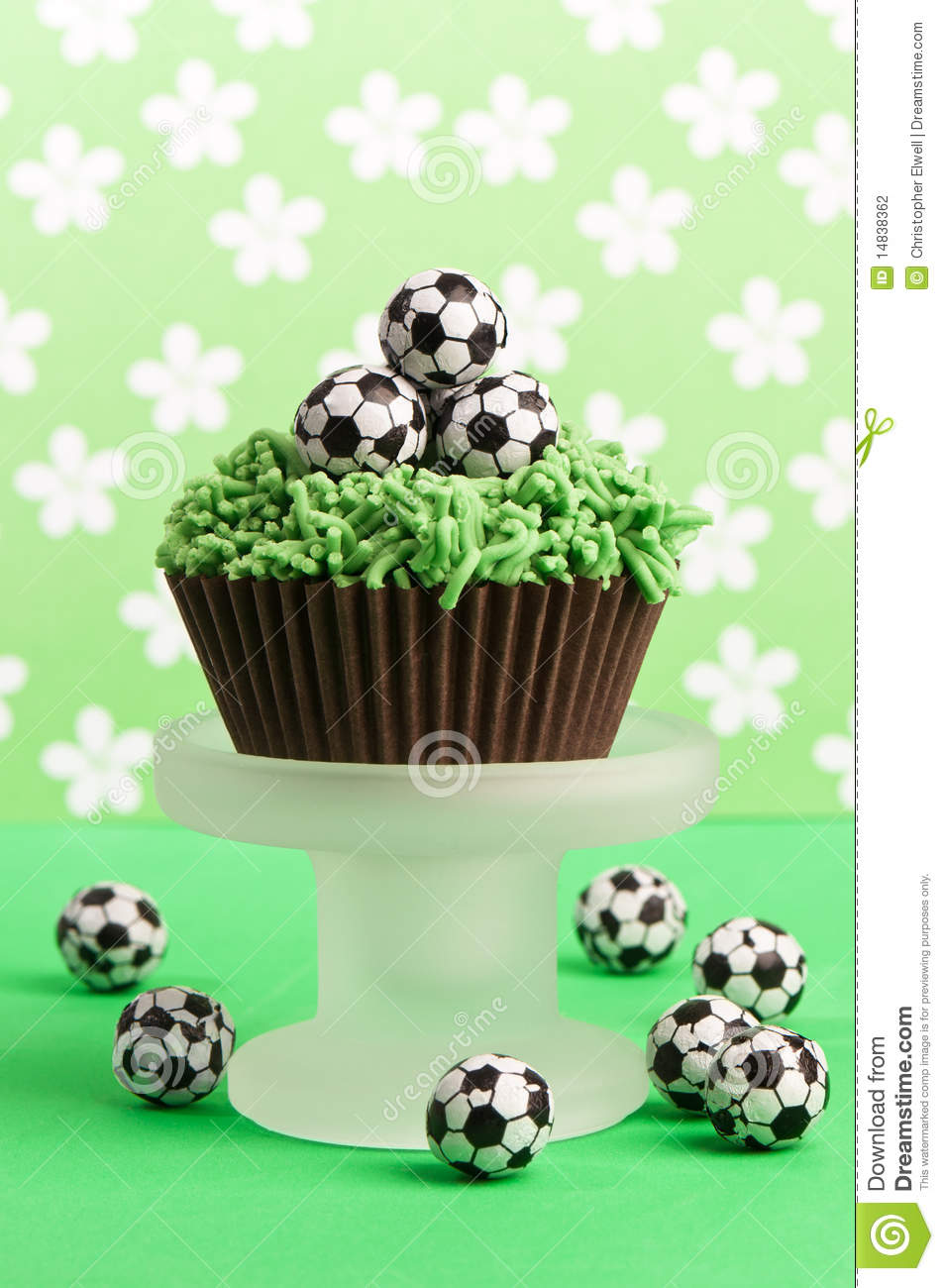 Football Birthday Cake stock photo Image of display 14838362