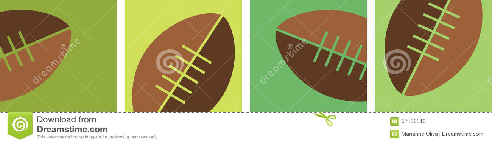 football border stock vector  illustration of football