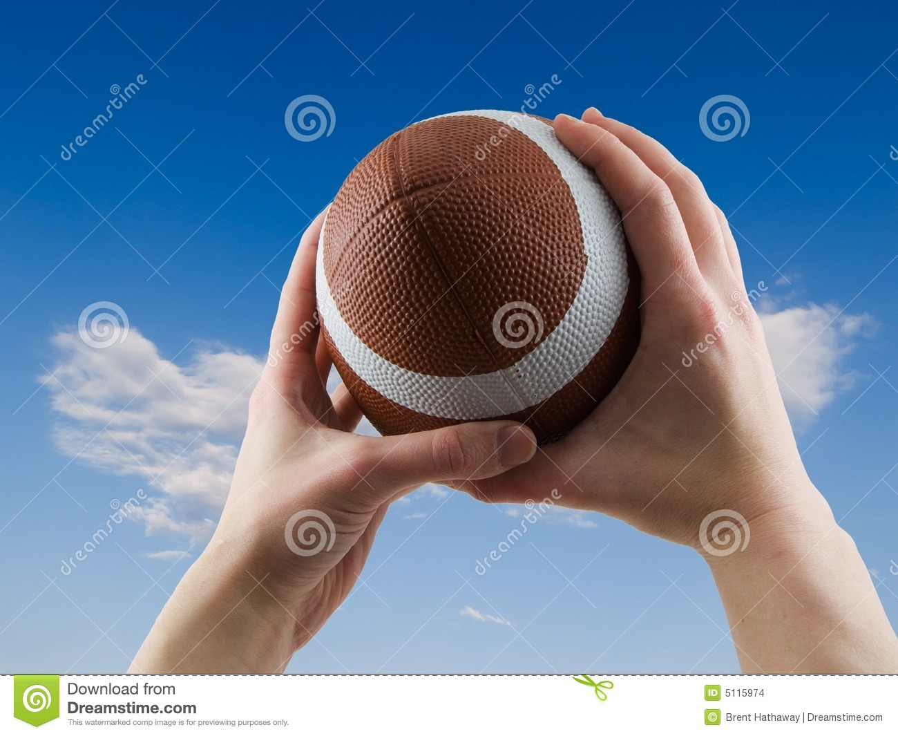 how to throw and catch a football