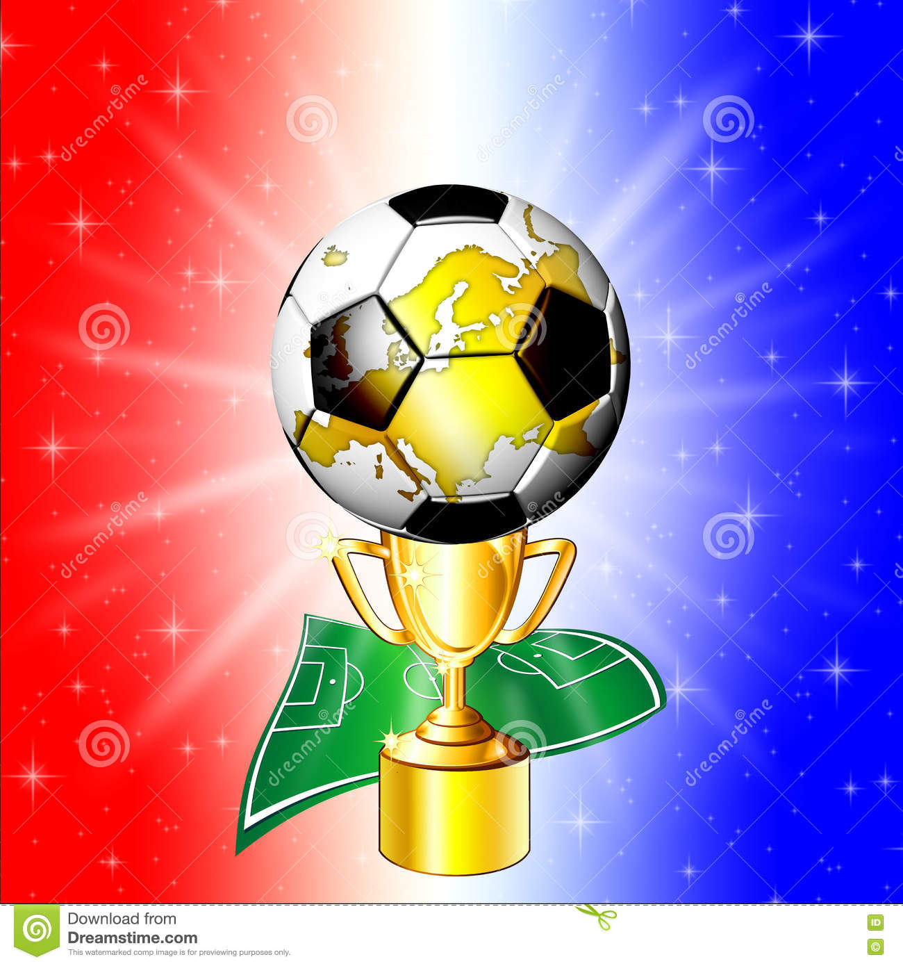 Football Championship Golden Cup