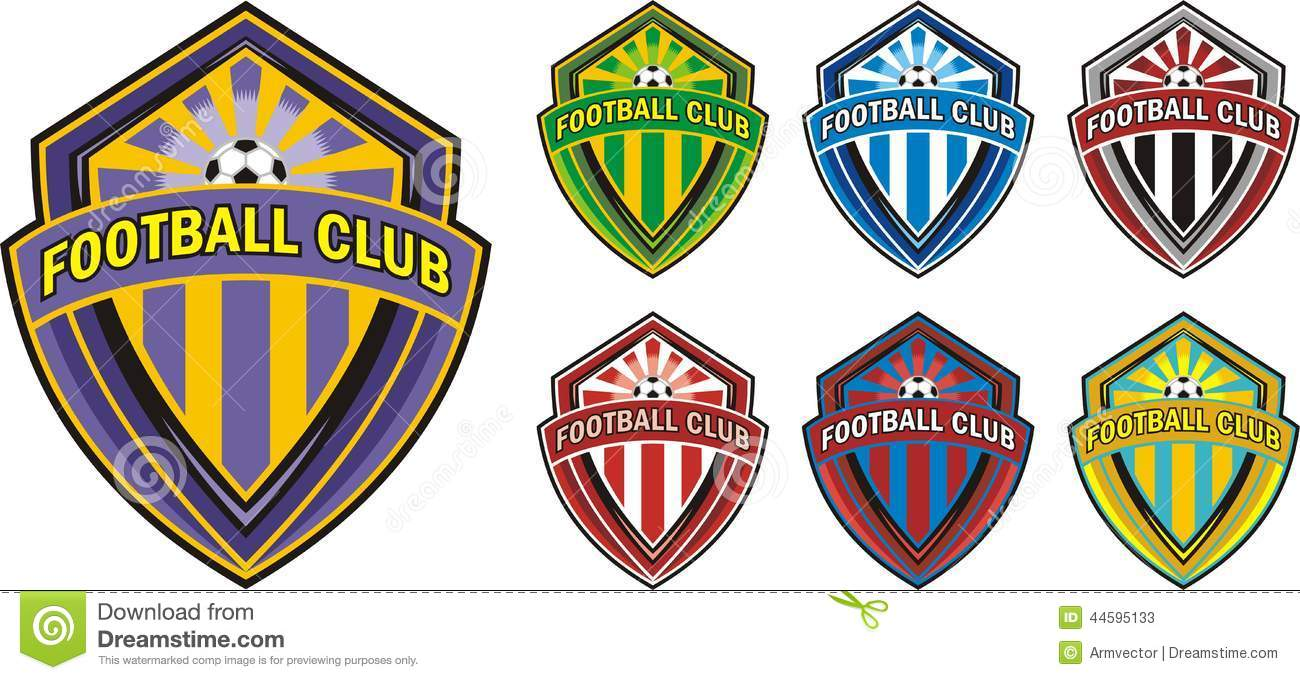 Extrêmement Football club logo stock vector. Image of club, seal - 44595133 CM26