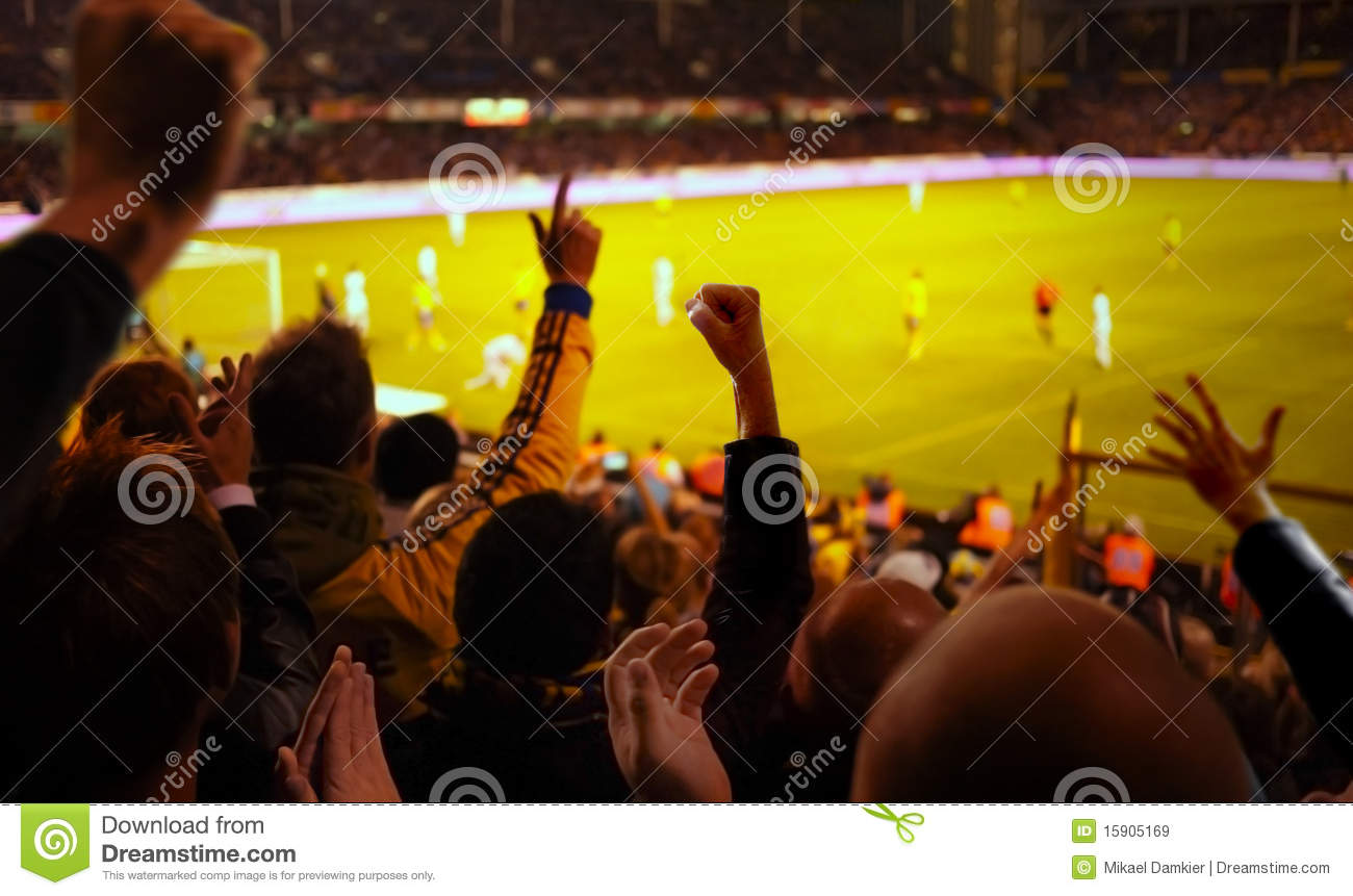 Football Excitement Royalty Free Stock Images - Image ...