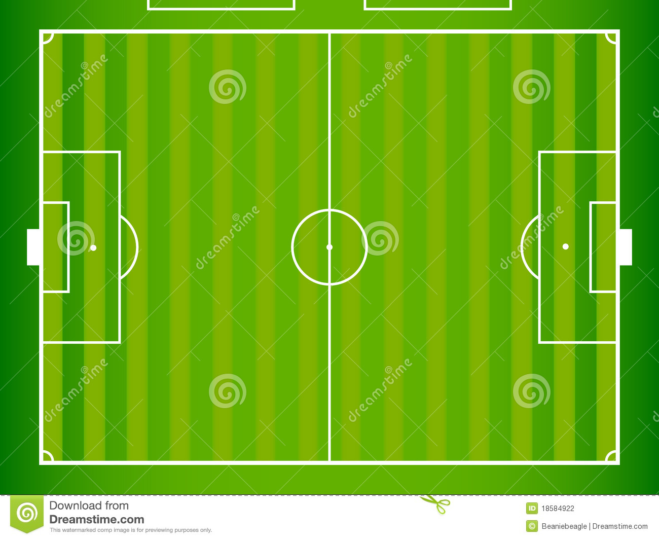 Football Field Layout Stock Illustration Of Play Nfl Diagram Royalty Free