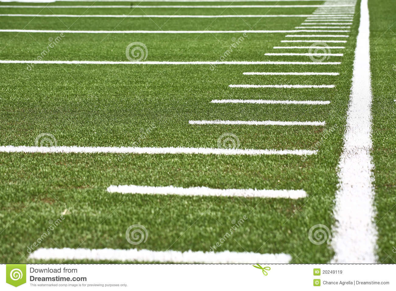Football Field Royalty Free Stock Images  Image 20249119