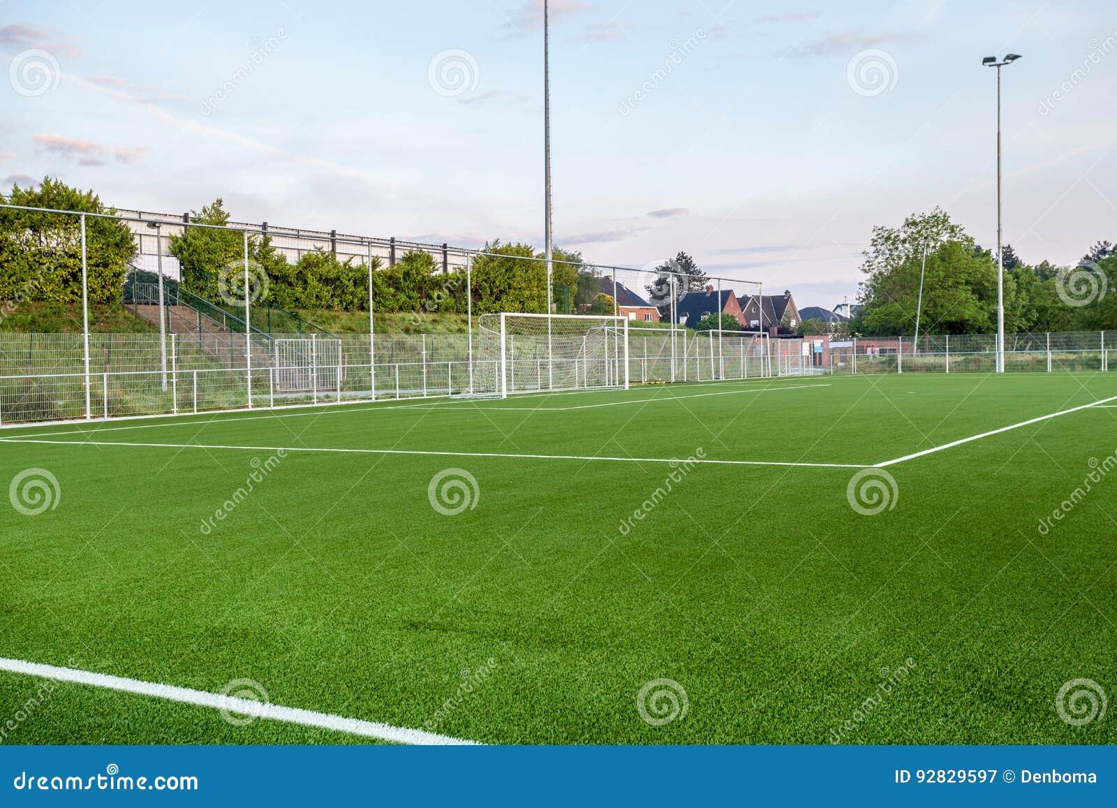 An football field
