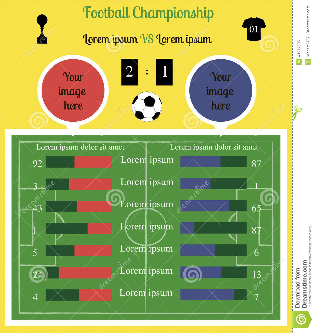 Infographic football