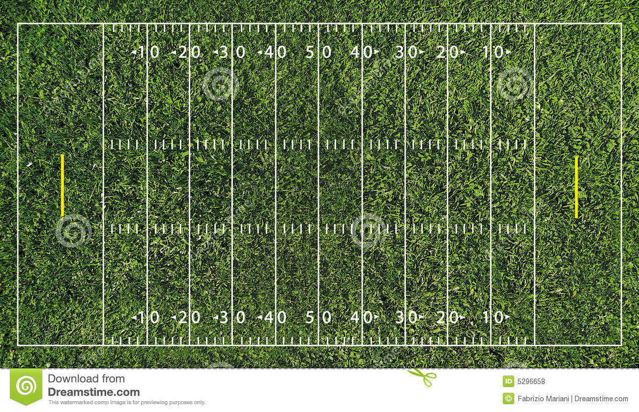 football field  nfl  royalty free stock photos