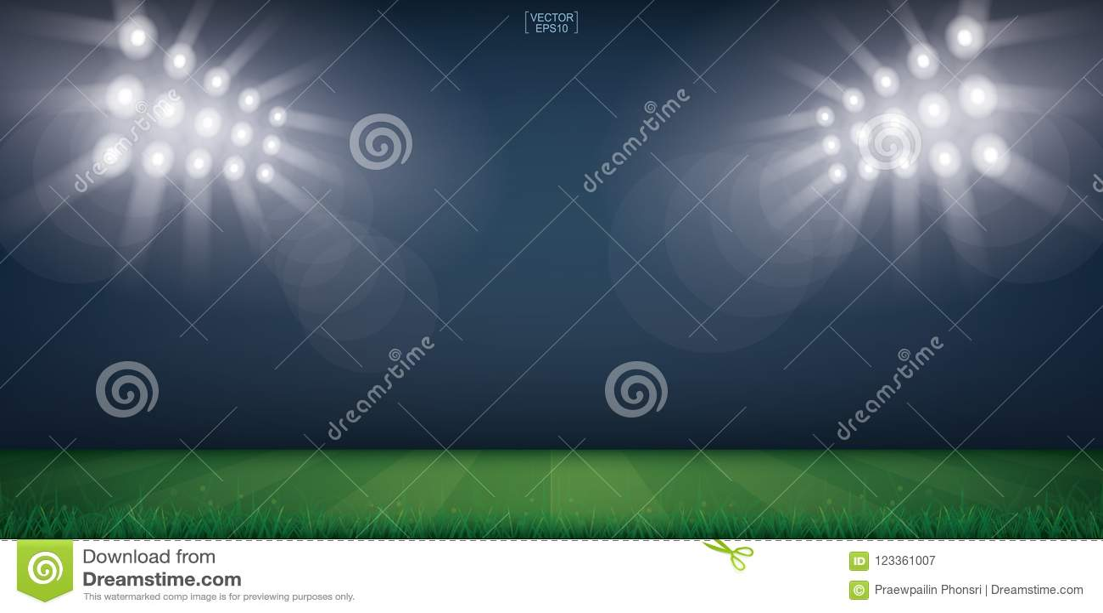 football field or soccer field stadium background vector stock vector illustration of brazil green 123361007 https www dreamstime com football field soccer stadium background vector illustration image123361007