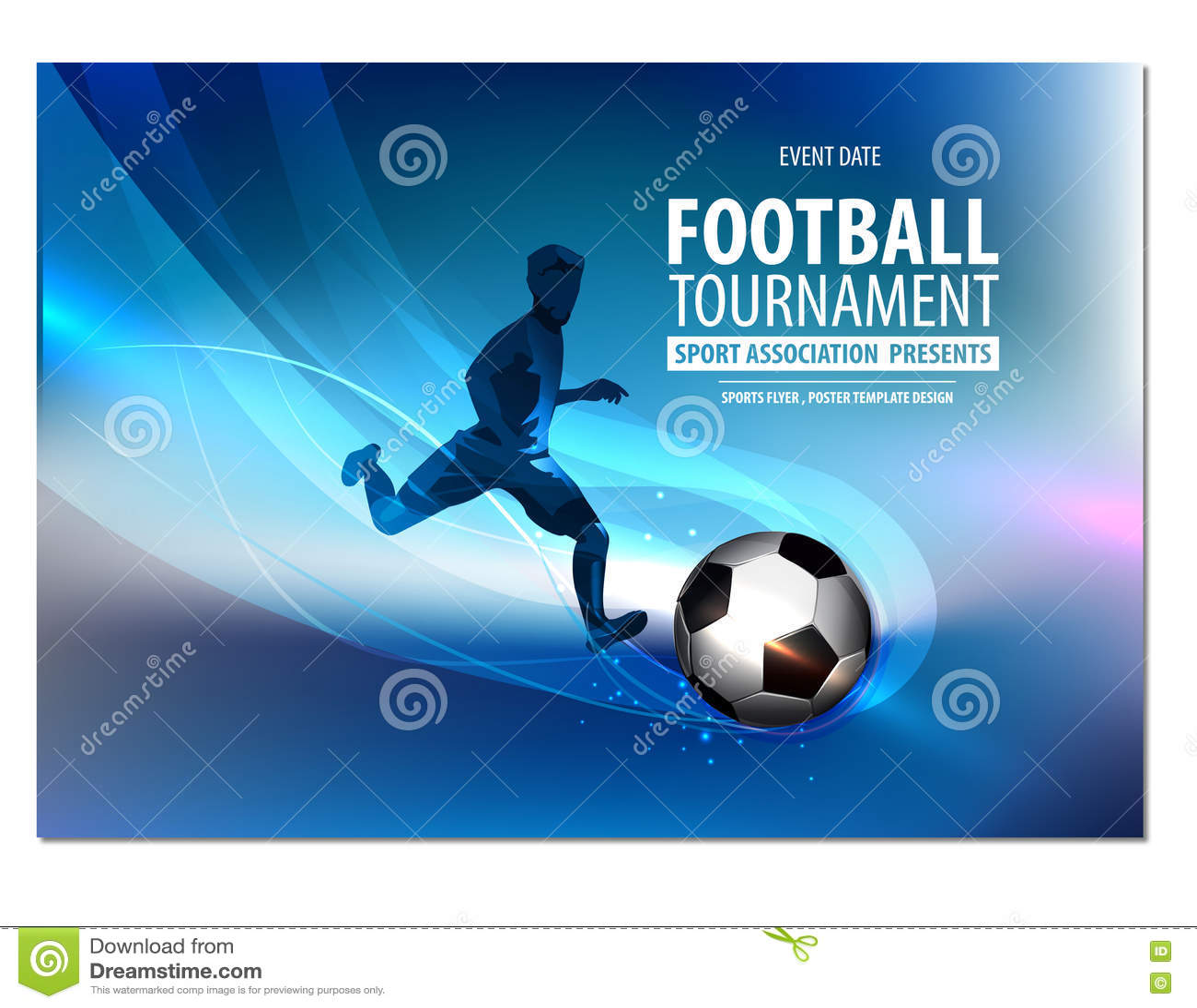 football flyer poster brochure presentation illustration 81246748
