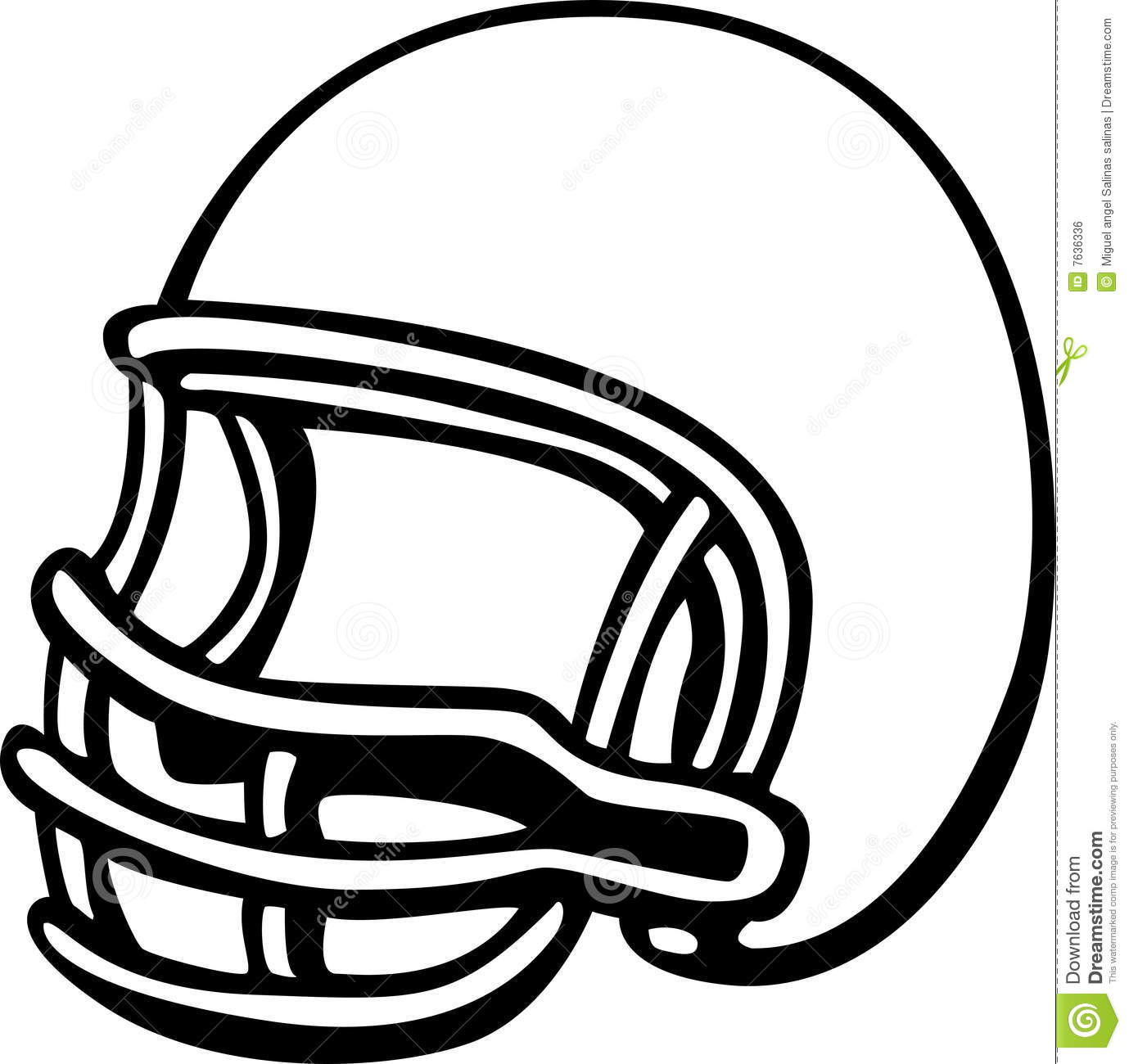 football helmet vector illustration stock vector illustration of rh dreamstime com football helmet clipart front view football helmets clipart free
