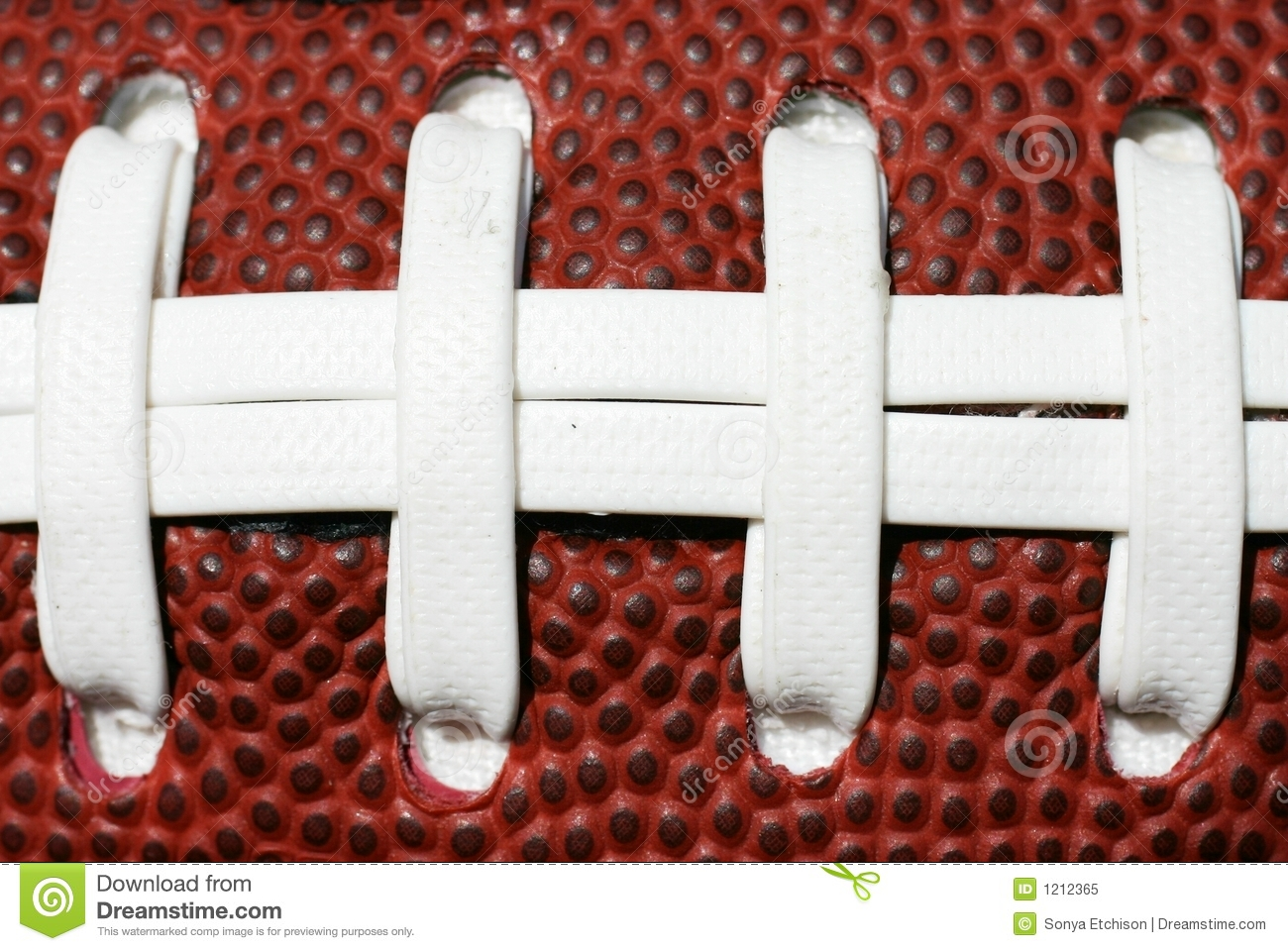 Football Laces Stock Image Image Of Game Athlete