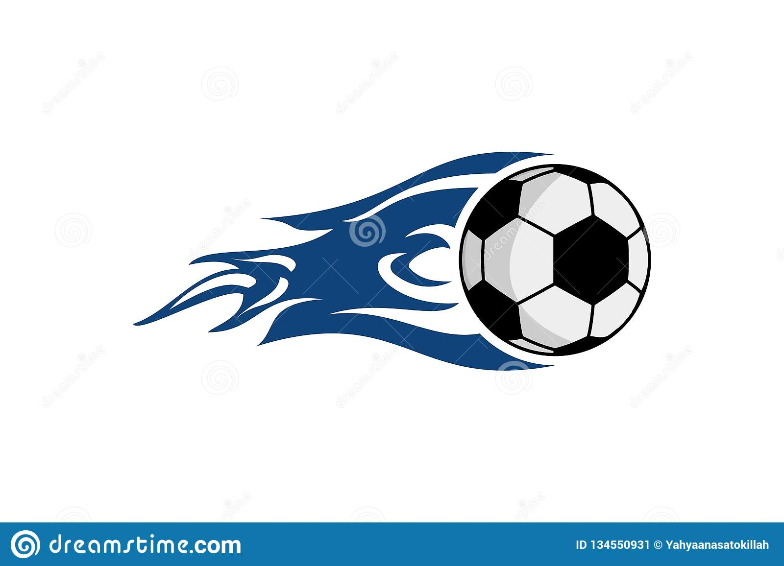 Football Logo Designs Inspiration Isolated On White Background Stock Vector Illustration Of Label Creative 134550931