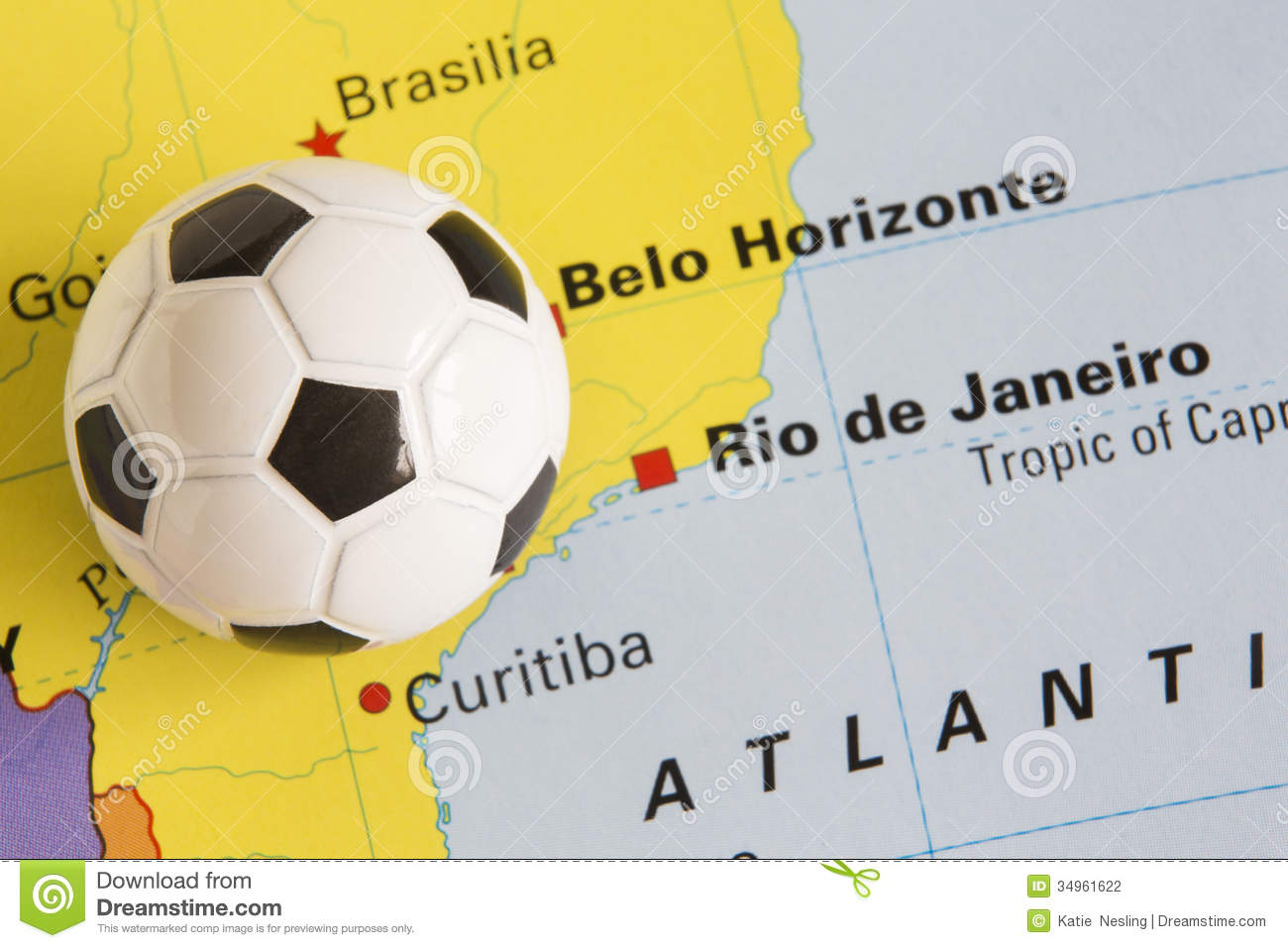 Football on map of brazil to show 2014 rio fifa world cup tournament football on map of brazil to show 2014 rio fifa world cup tournament gumiabroncs Gallery