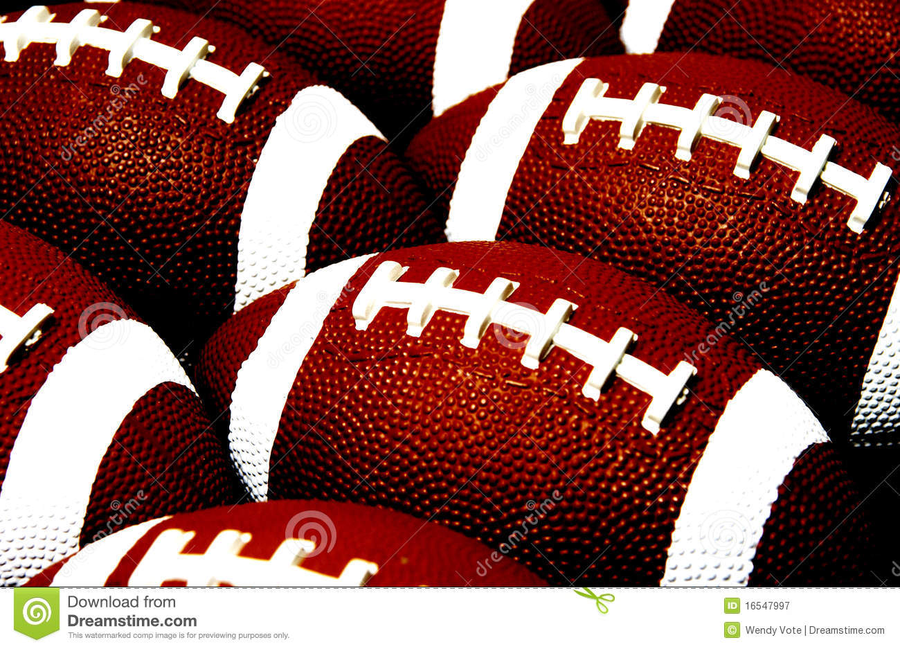 Football Pattern Stock Image. Image Of Background, Sport