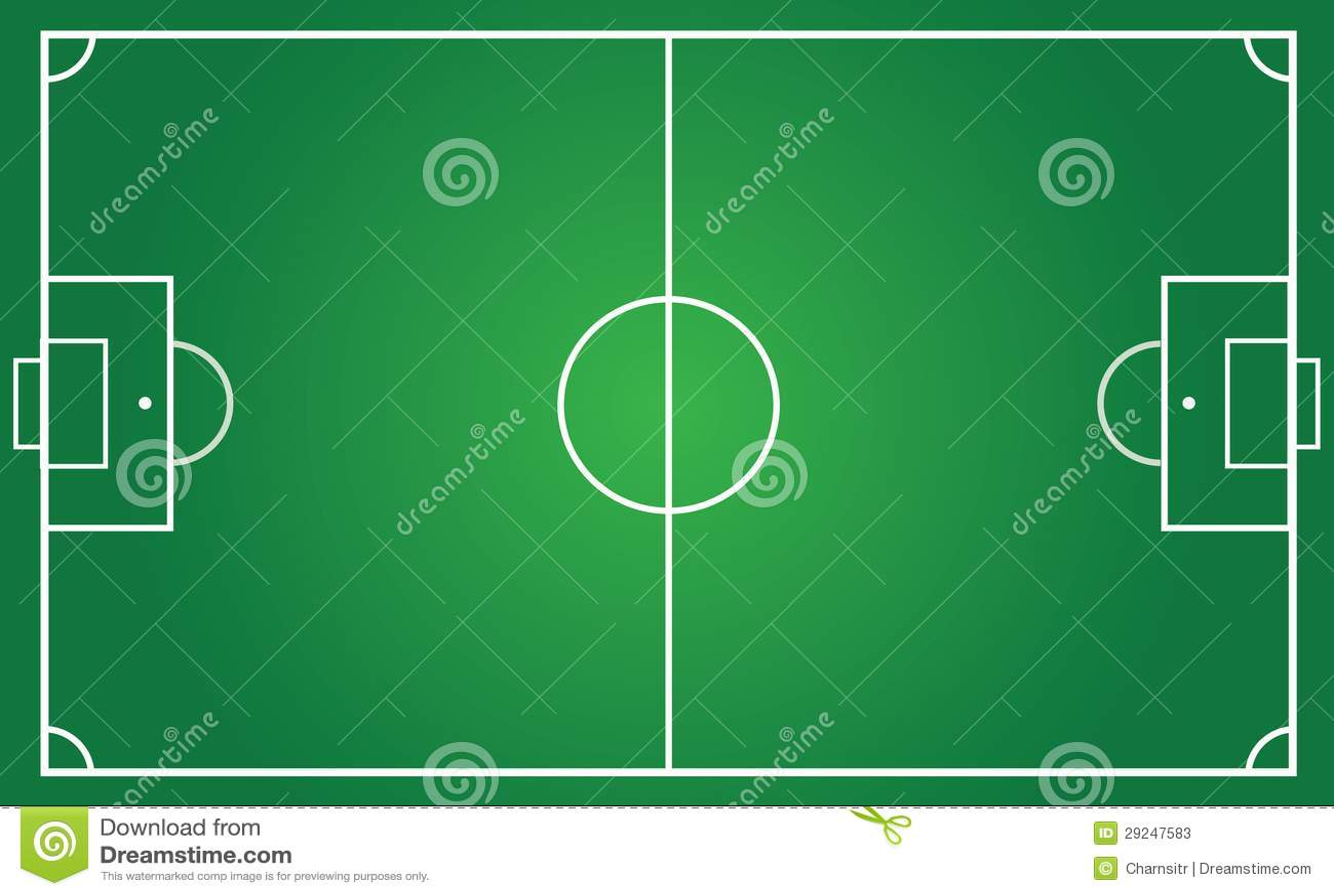 Football pitch metric