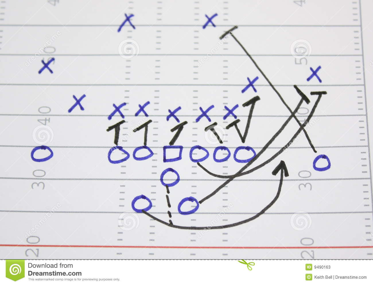Football play sweep diagram stock image image of chalkboard football play sweep diagram pooptronica Images