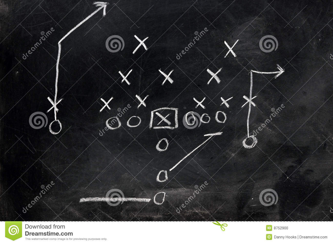 Football xs and os stock photo image of sport coach 8752900 football x s and o s pooptronica Images