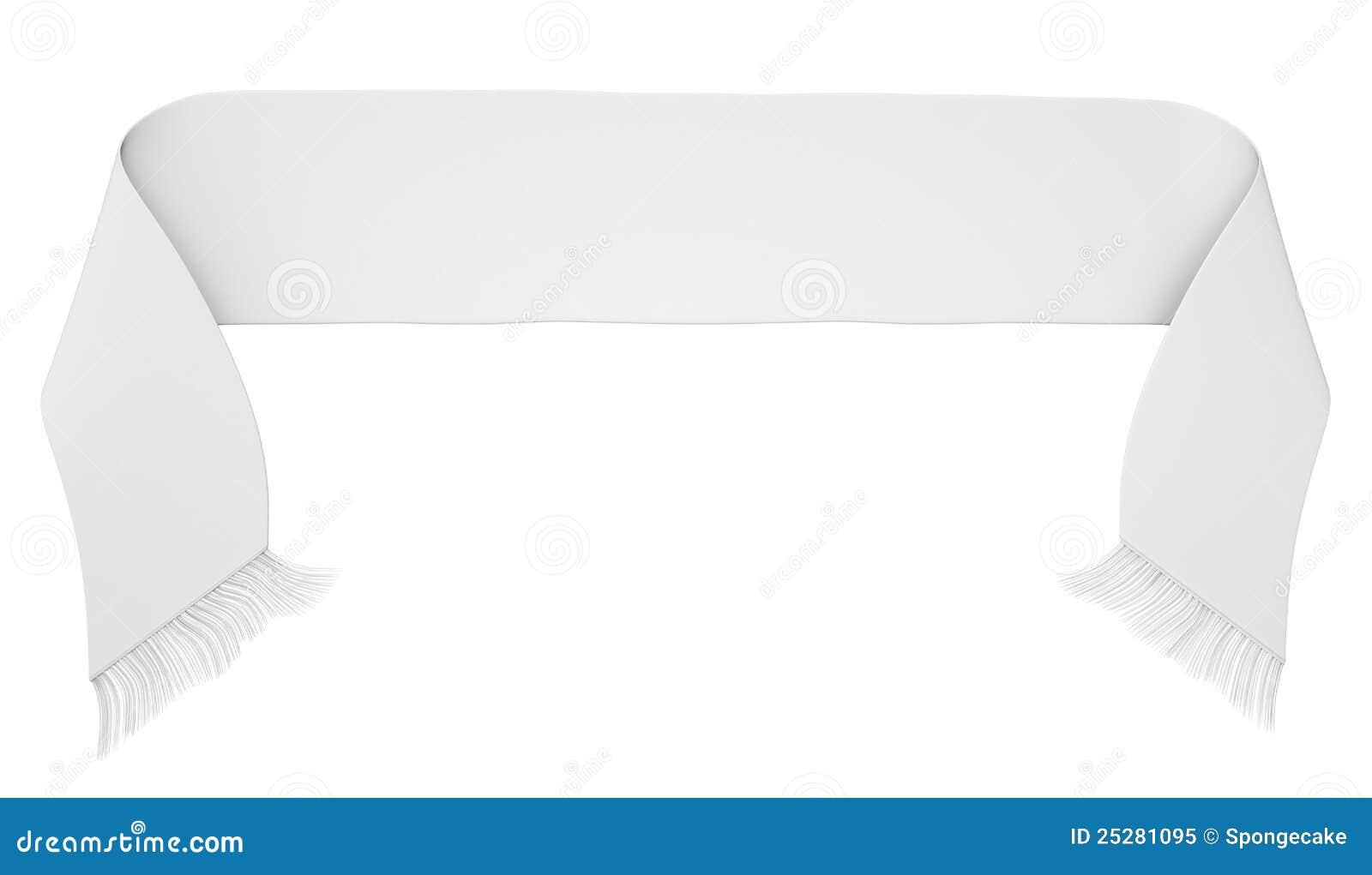 Football scarf stock illustration  Illustration of single
