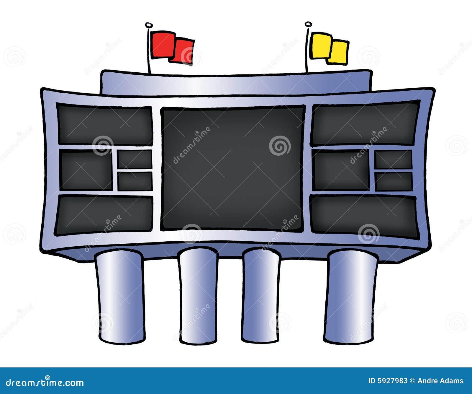football scoreboard stock illustrations 2 418 football scoreboard rh dreamstime com scoreboard clip art scores clipart