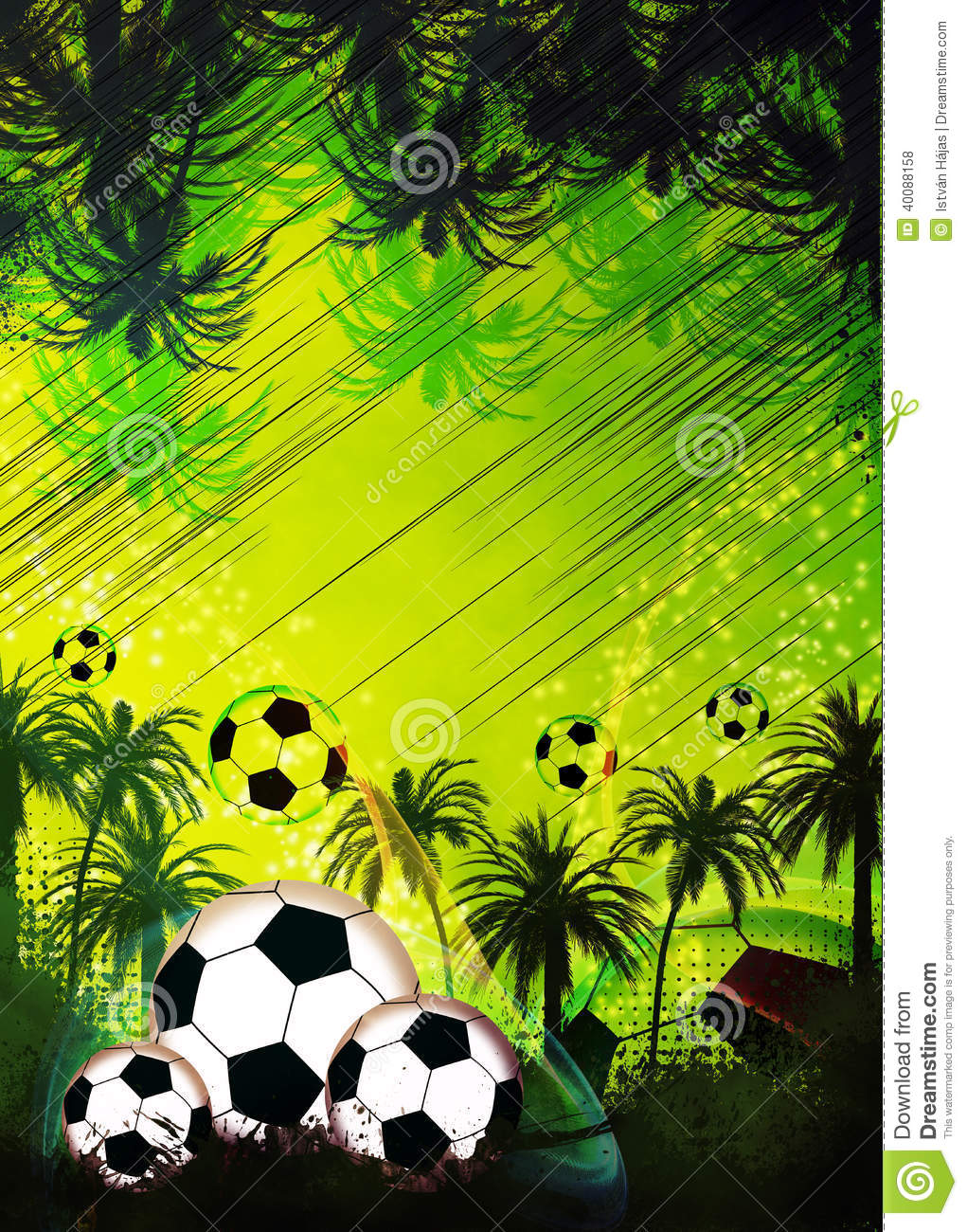 football or soccer background stock illustration