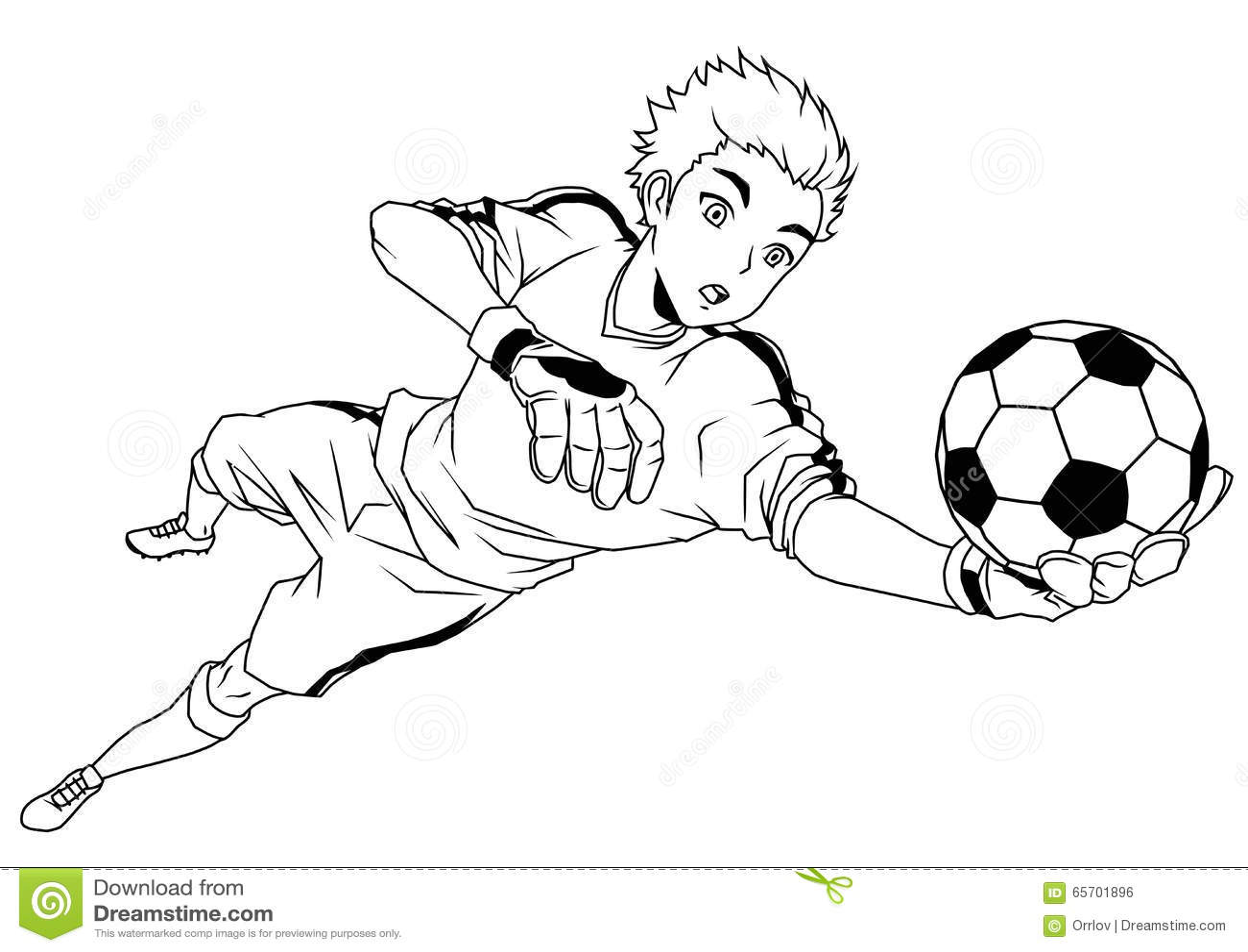 вратарь ловит пенчингбол  перчатками