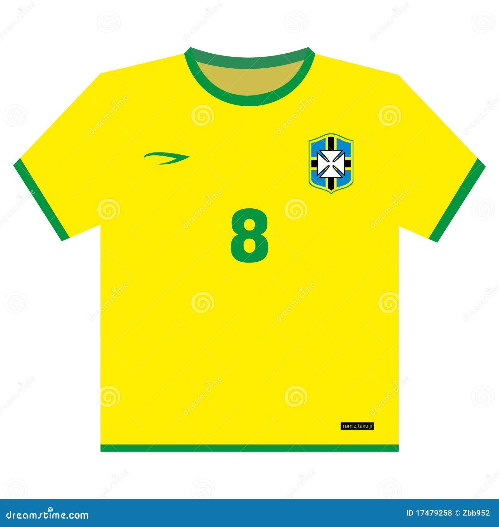 Football (soccer) Shirt Royalty Free Stock Photos - Image: 17479258
