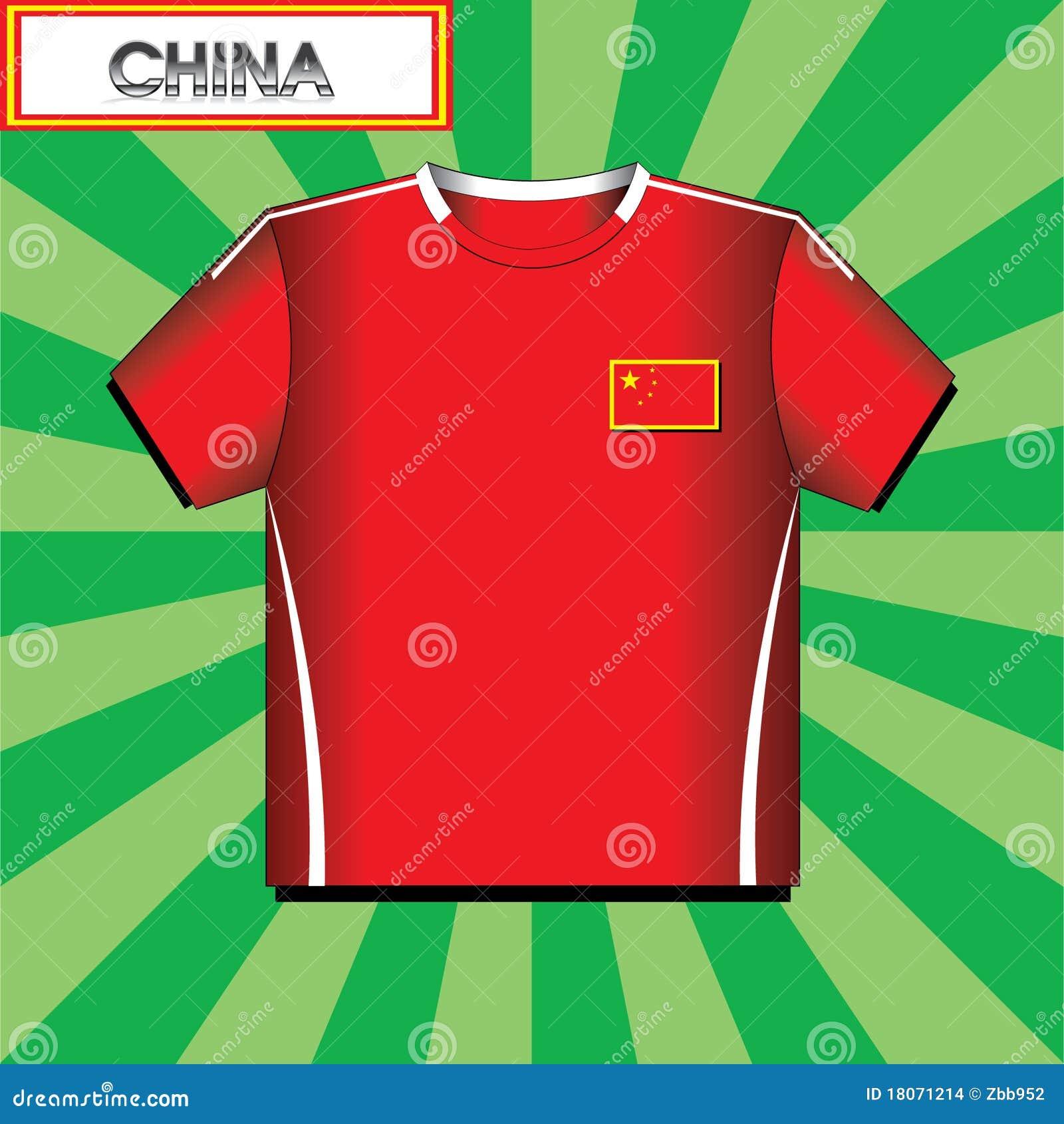 Football ( Soccer ) Shirt Stock Vector . Illustration Of Away