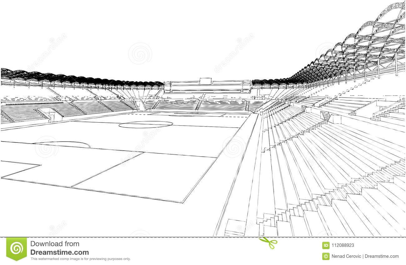 football soccer stadium illustration vector stock vector illustration of game match 112088923 https www dreamstime com football soccer stadium vector white background football soccer stadium illustration vector image112088923