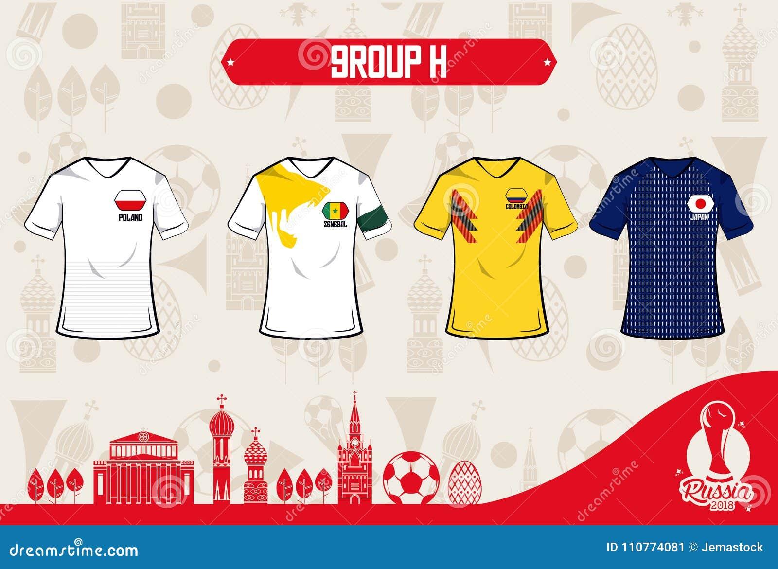 Football Sport Wear Russia 2018 Stock Vector - Illustration of ... b6a08dda2