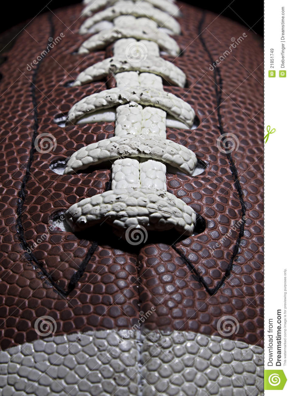 Football Stitches Royalty Free Stock Images Image 21851749