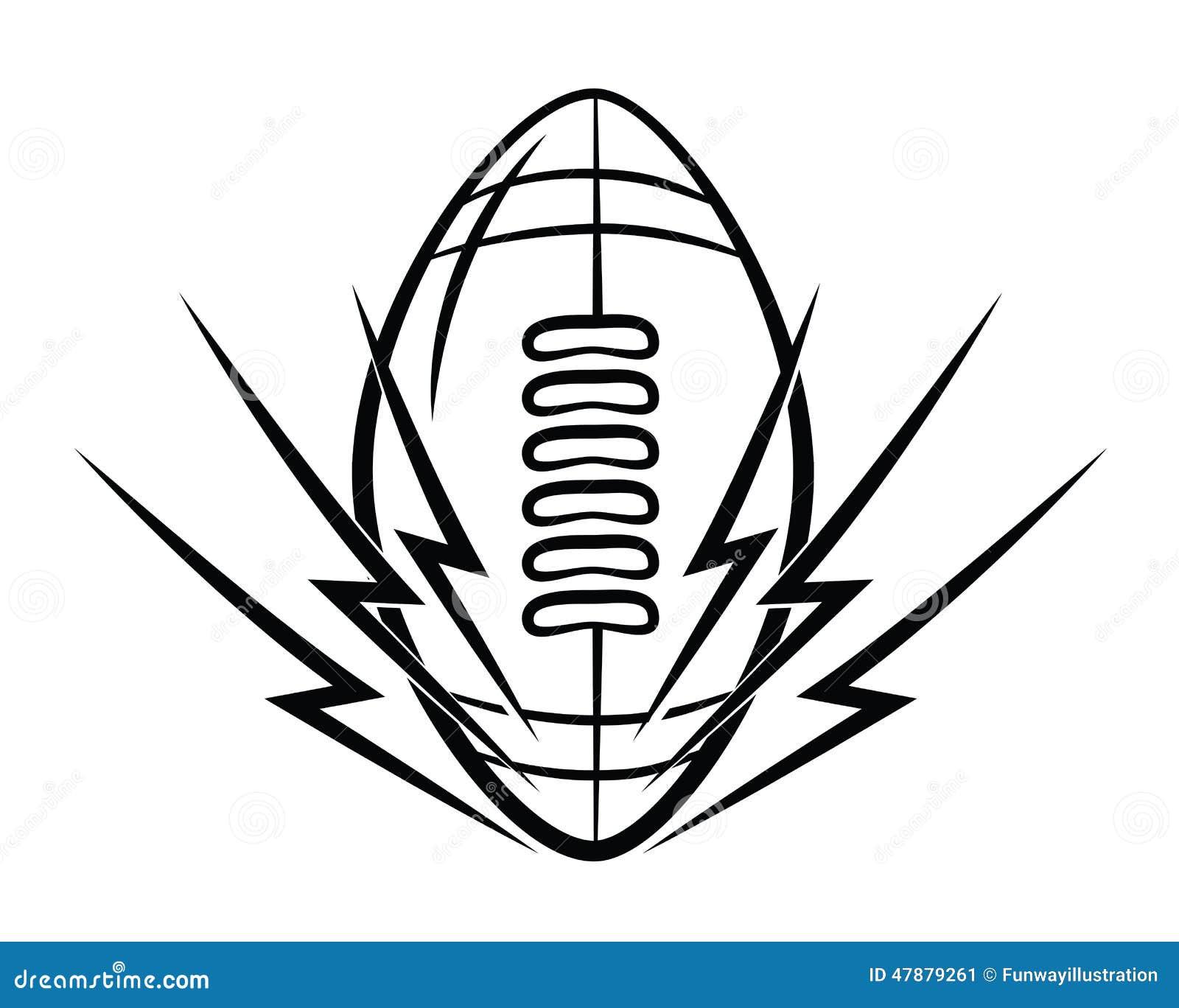Football symbol stock vector illustration of symbol 47879261 football symbol buycottarizona