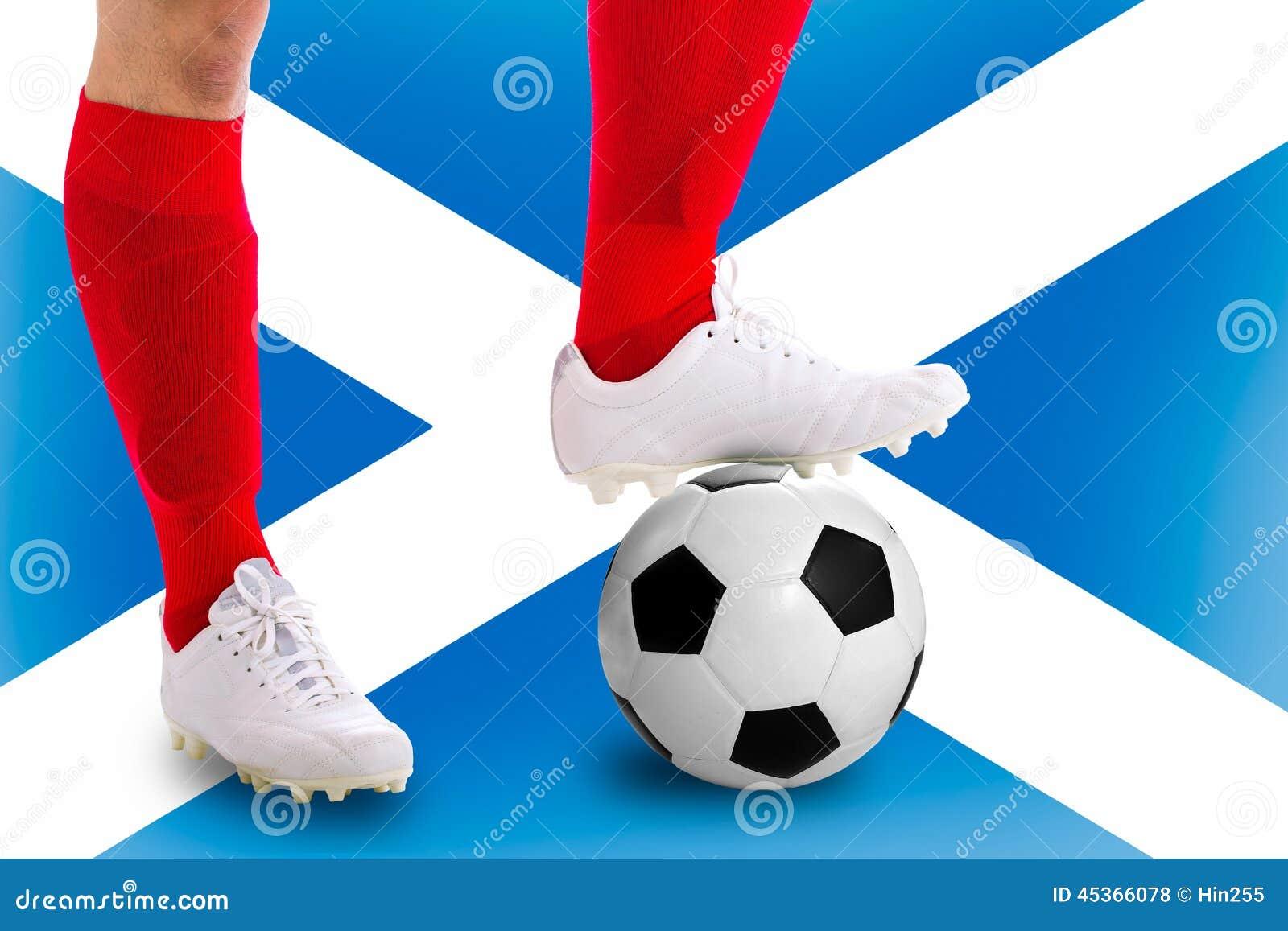 Footballeur de l Ecosse