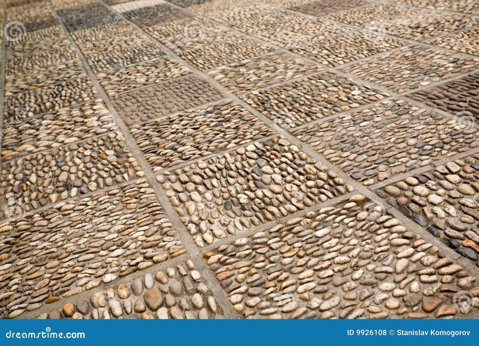 Footpath stoney