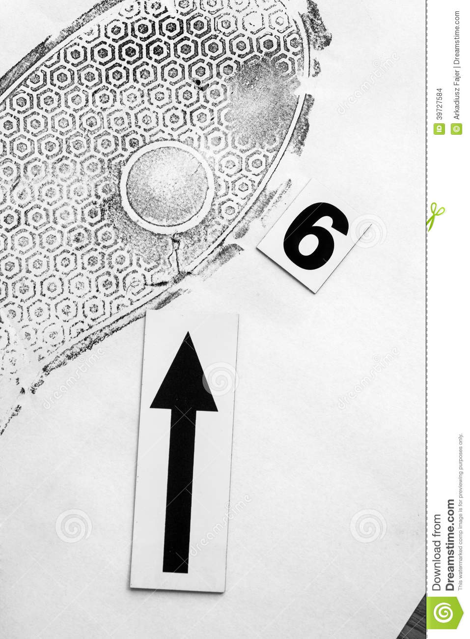 Footprint Stock Photo Image Of Hint Legal Clue Examination
