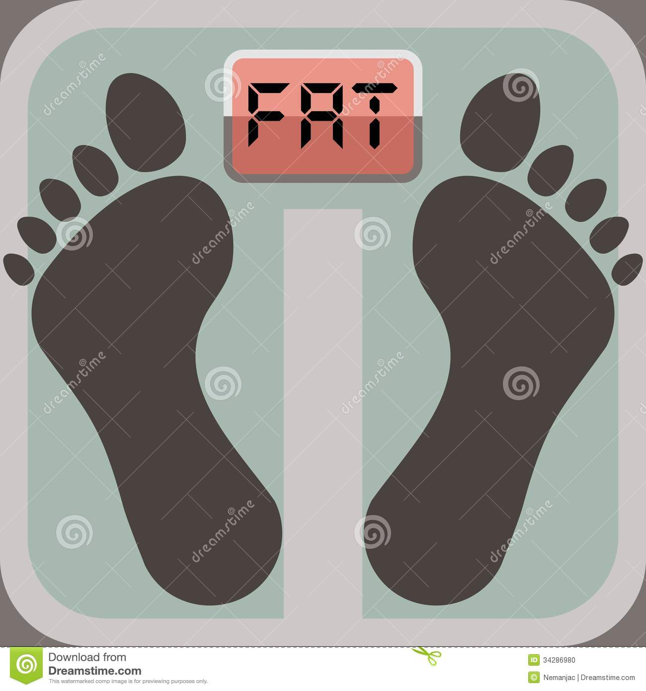 Fat Bathroom Scale 72