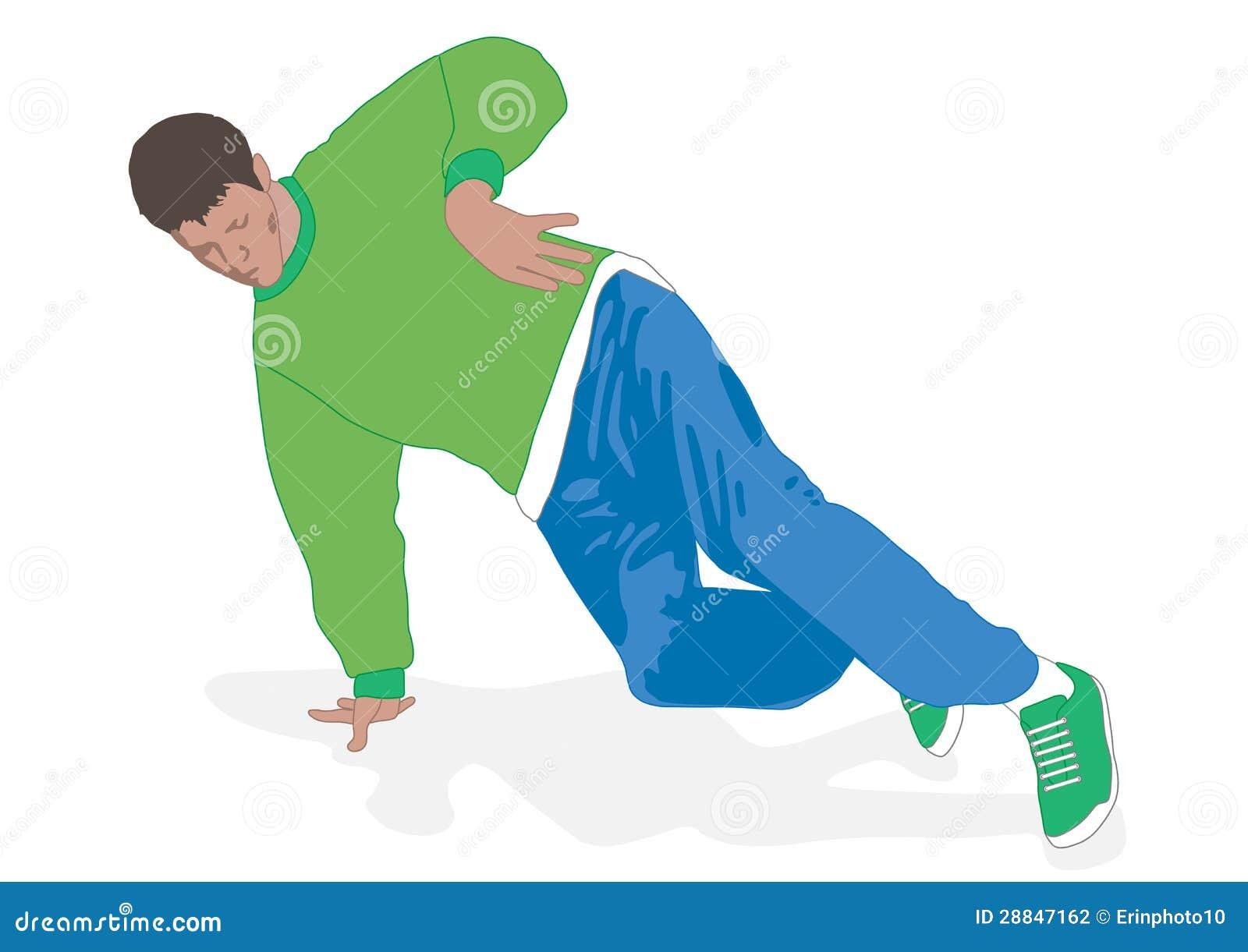 Footwork de la danza de rotura
