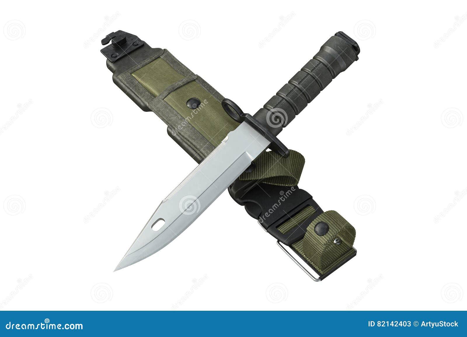 2a76a8f052 Forças armadas do exército da faca com lâmina afiada e tampa verde rendição  3d. Mais ilustrações de stock similares