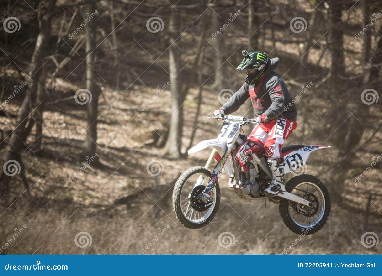 Fora da competência da motocicleta da estrada