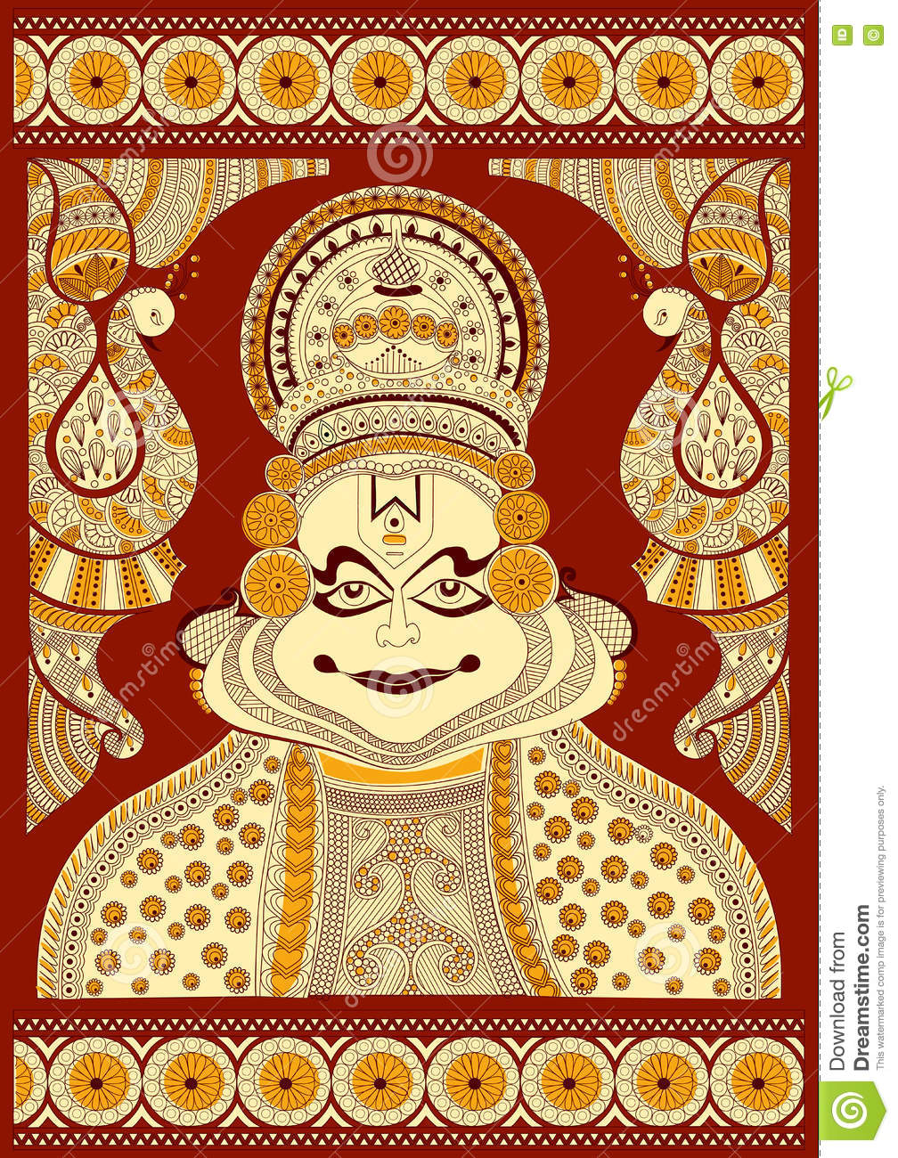 kathakali cartoons pictures illustrations - photo #8