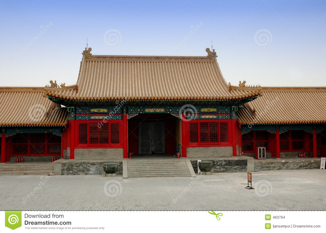 Download Forbidden city stock photo. Image of house, travel, chinese - 463794