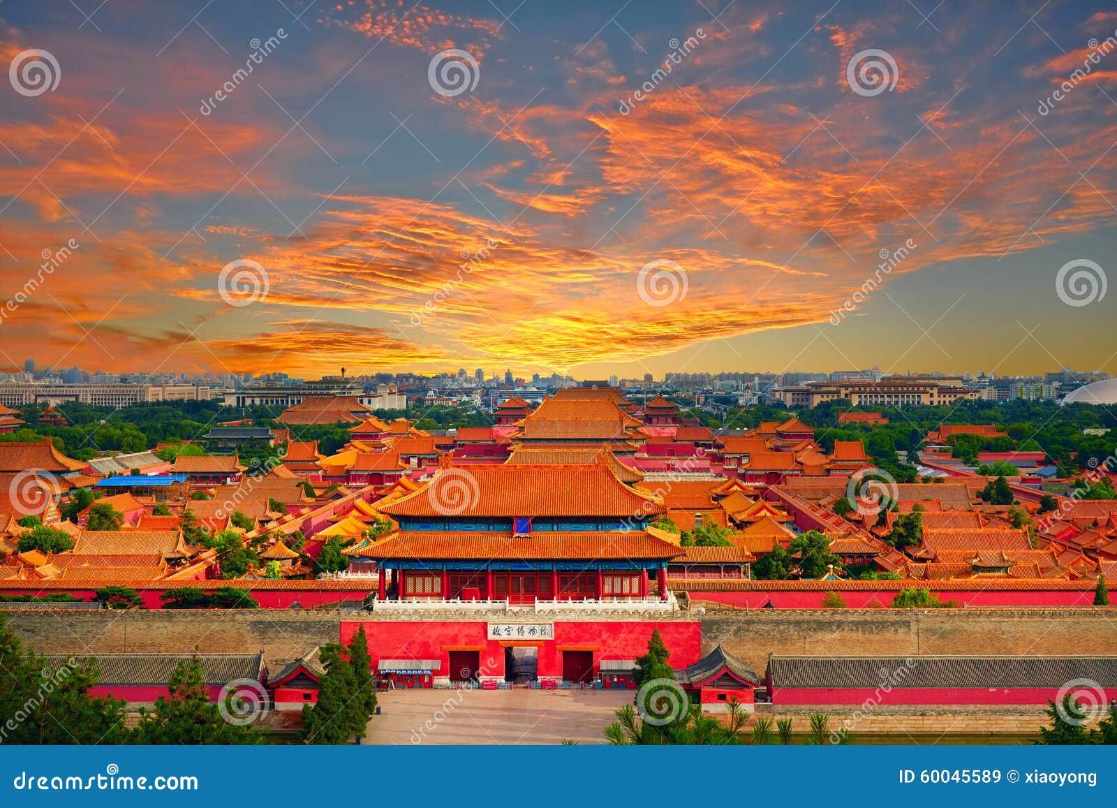 Beijing Forbidden city,China