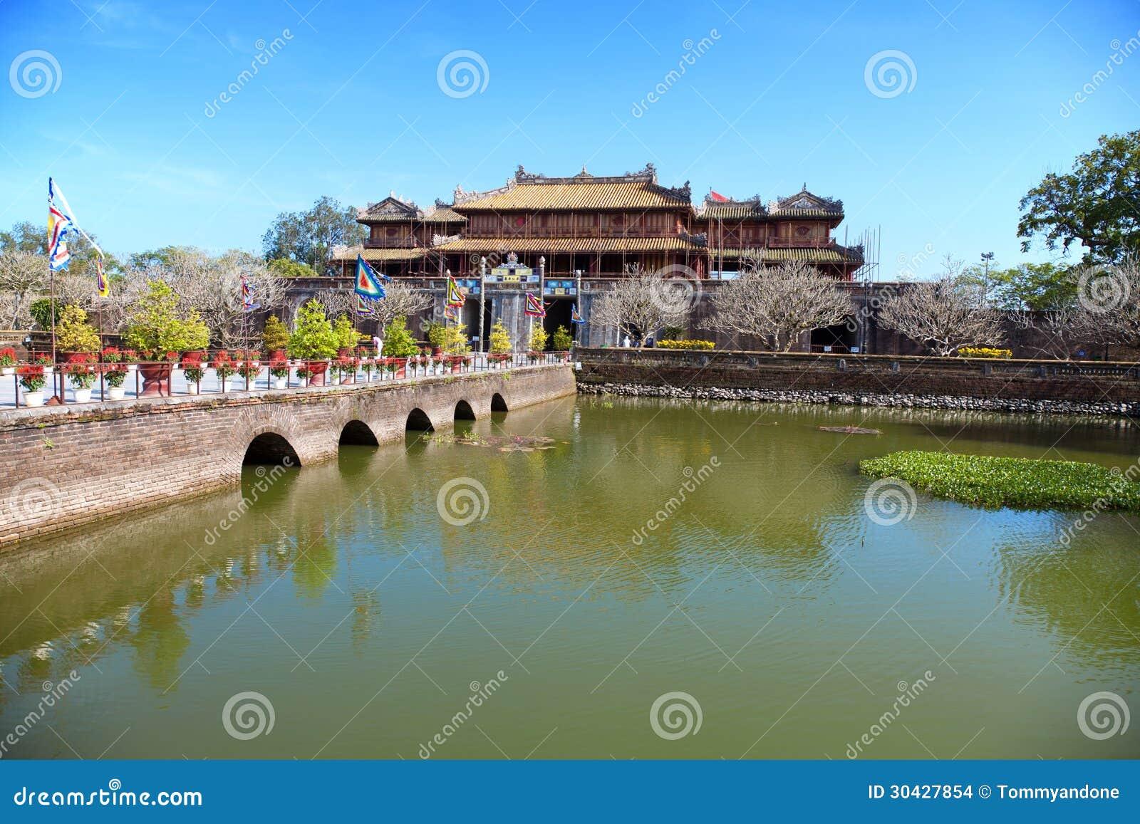 Forbidden city Hue, Vietnam