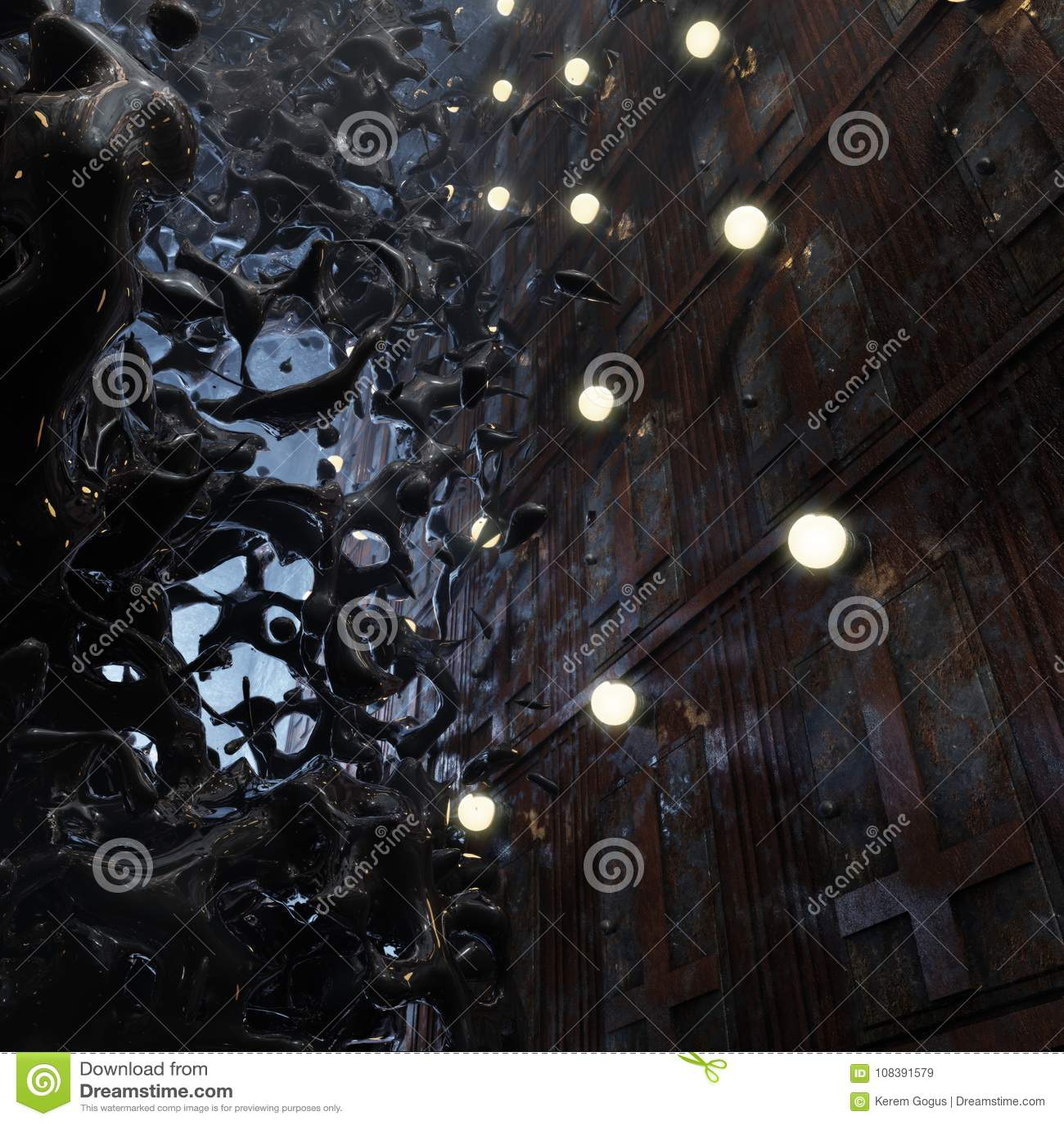 Forbidden Doors Nightmare Concept Art