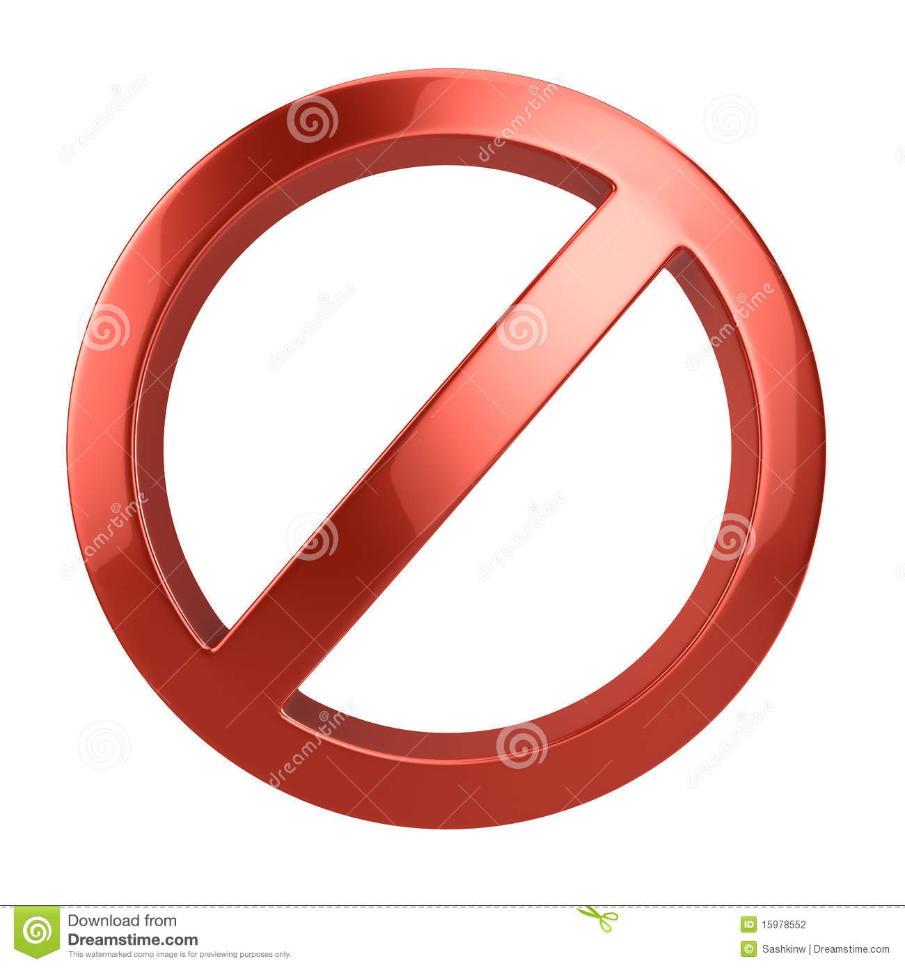 forbidden sign stock photography image 15978552
