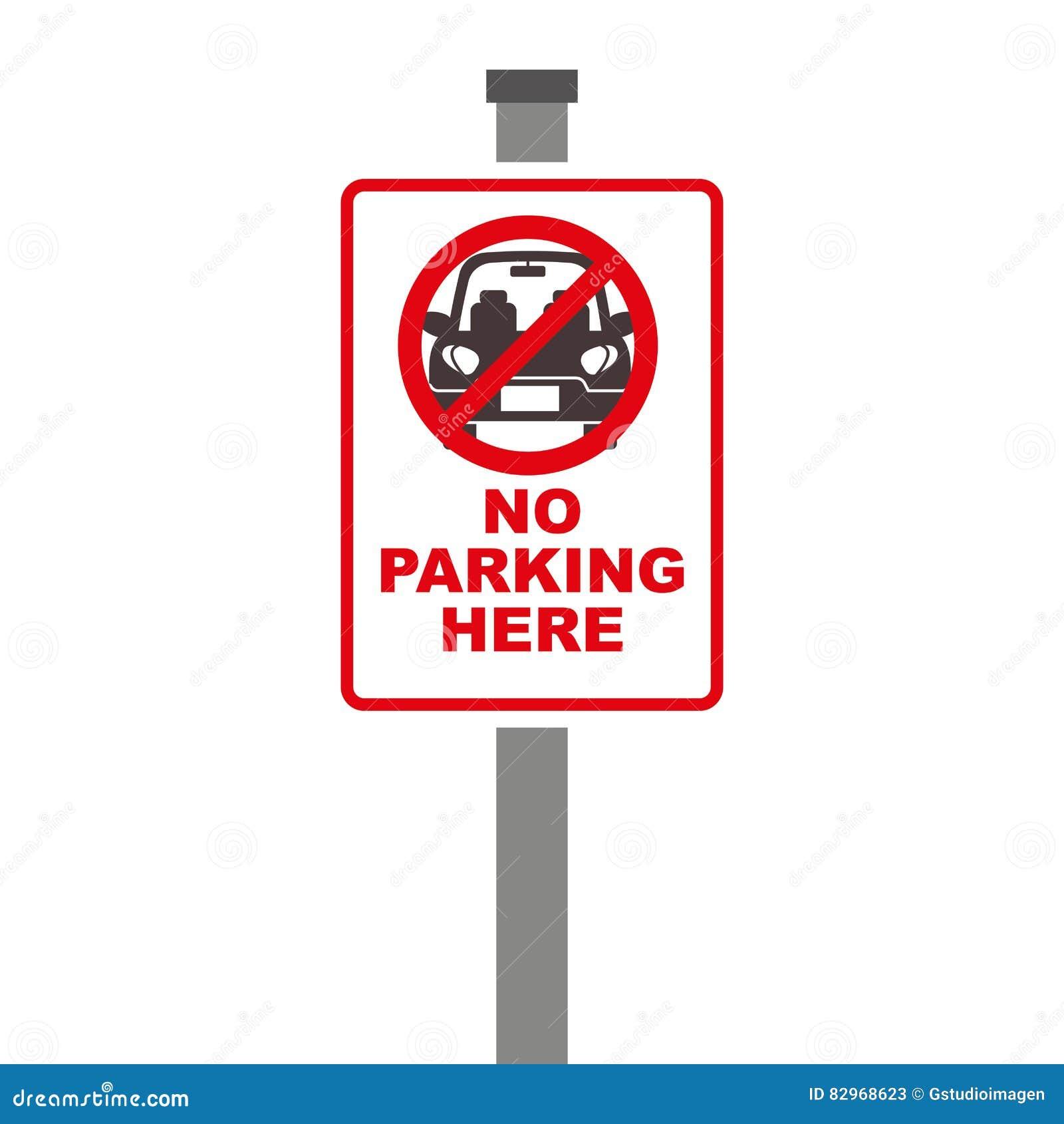 Forbidden sign of parking zone over white background stock forbidden sign of parking zone over white background buycottarizona