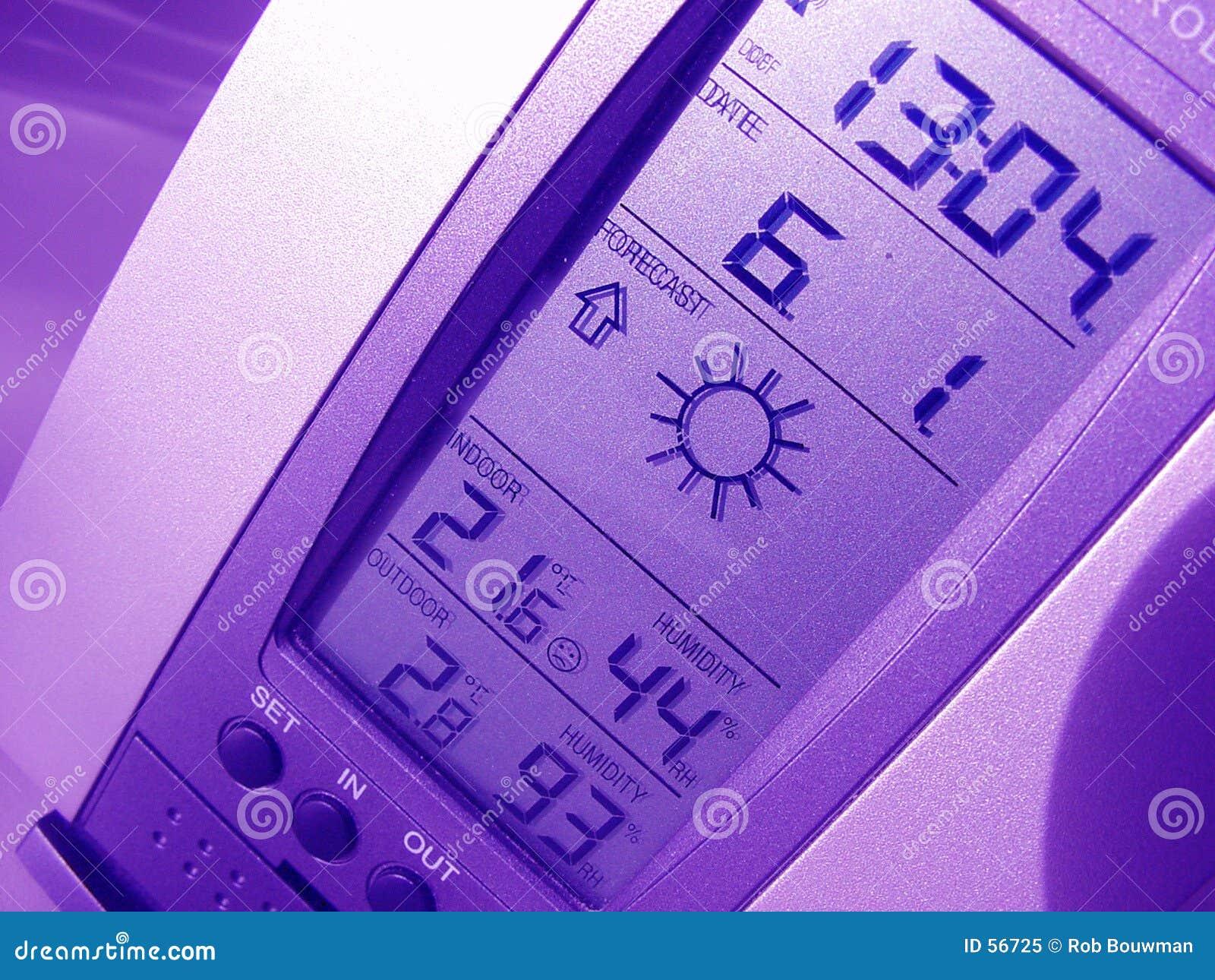 Download Forcast image stock. Image du temps, ensoleillé, bleu, baromètre - 56725