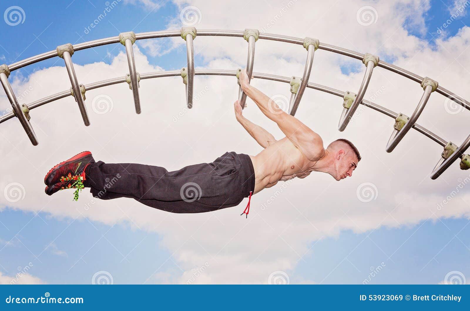 Force de noyau de séance d entraînement de forme physique